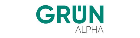 Grün Alpha Logo